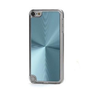 Zen metalický obal na iPod Touch 5 - světle modrý - 1