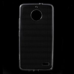 Transparentní gelový obal na Lenovo Moto E4 - 1