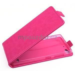 Flipové pouzdro na mobil Lenovo Vibe X2 - rose - 1