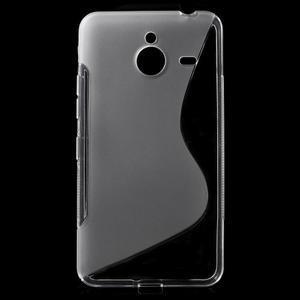 S-line gelový obal na Microsoft Lumia 640 XL - transparentní - 1