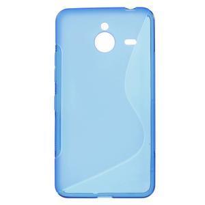 S-line gelový obal na Microsoft Lumia 640 XL - modrý - 1