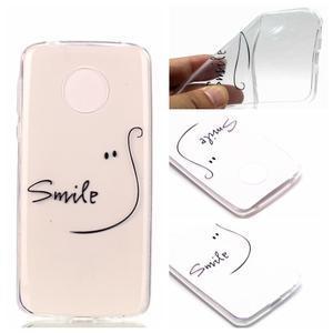 Emotive gelový obal na mobil Motorola Moto G6 Play - smile - 1