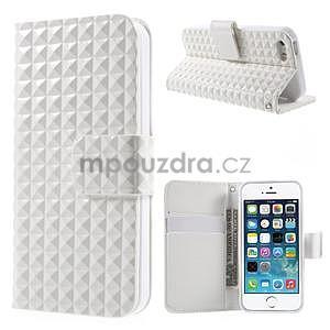 Cool Style pouzdro na iPhone 5 a iPhone 5s - bílé - 1