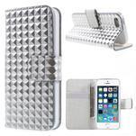 Cool Style pouzdro na iPhone 5 a iPhone 5s - stříbrné - 1/6