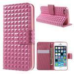 Cool Style pouzdro na iPhone 5 a iPhone 5s - růžové - 1/7