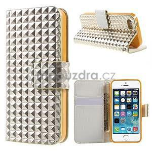 Cool Style pouzdro na iPhone 5 a iPhone 5s - champagne - 1