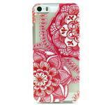 Fun gelový obal na iPhone 5s a iPhone 5 - mandala - 1/4
