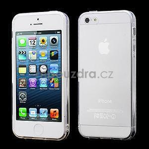 Transparentní gelový obal na iPhone 5/5s - 1