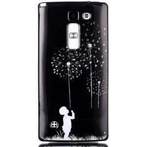 Soft gelové pouzdro na LG G4c - chlapec a pampelišky - 1