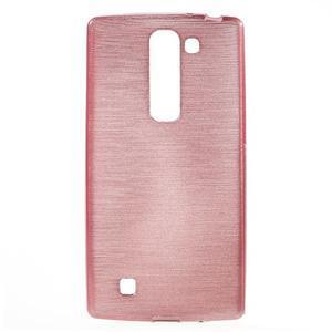 Brush gelový kryt na LG G4c H525N - růžový - 1
