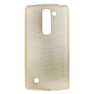 Brush gelový kryt na LG G4c H525N - champagne - 1