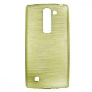 Brush gelový kryt na LG G4c H525N - zelený - 1