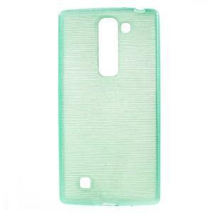 Brush gelový kryt na LG G4c H525N - cyan - 1