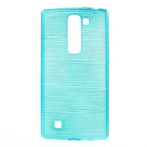 Brush gelový kryt na LG G4c H525N - modrý - 1