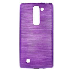 Brush gelový kryt na LG G4c H525N - fialový - 1
