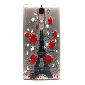 Průhledný gelový obal na LG G4c - Eiffelova věž - 1