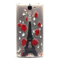 Průhledný gelový obal na LG G4c - Eiffelova věž - 1/4
