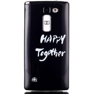 Soft gelové pouzdro na LG G4c - happy - 1
