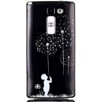 Soft gelové pouzdro na LG G4c - chlapec a pampelišky - 1/3