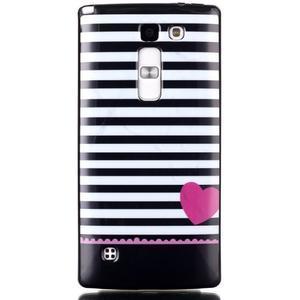 Soft gelové pouzdro na LG G4c - srdce - 1