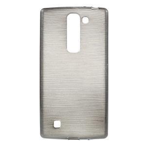 Brush gelový kryt na LG G4c H525N - šedý - 1