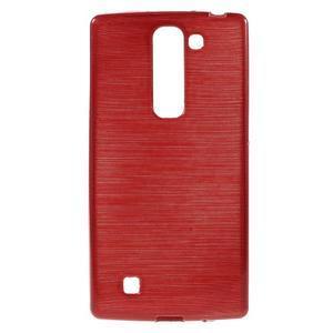 Brush gelový kryt na LG G4c H525N - červený - 1