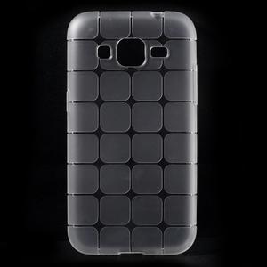 Square matný gelový obal na Samsung Galaxy Core Prime - transparentní - 1