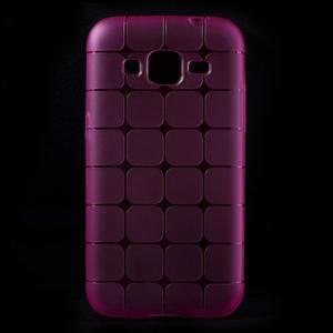 Square matný gelový obal na Samsung Galaxy Core Prime - rose - 1