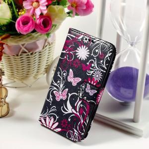 Pouzdro na mobil Samsung Galaxy Core Prime - kouzelní motýlci - 1