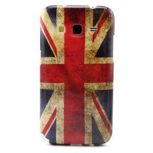Gelový obal pro Samsung Core Prime - UK vlajka - 1