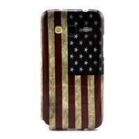 Gelový obal pro Samsung Core Prime - US vlajka - 1/3