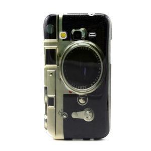 Gelový obal pro Samsung Core Prime - retro foťák - 1