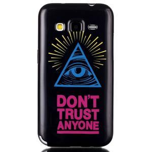 Gelový kryt na mobil Samsung Galaxy Core Prime - oko - 1