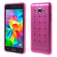 Square gelový obal na Samsung Galaxy Grand Prime - rose - 1/5