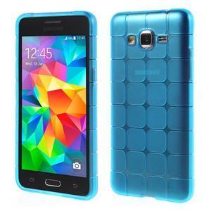 Square gelový obal na Samsung Galaxy Grand Prime - modré - 1