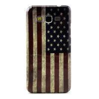 Gelový kryt na Samsung Grand Prime - US vlajka - 1/3