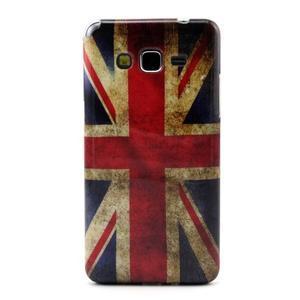 Gelový kryt na Samsung Grand Prime - UK vlajka - 1