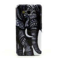 Gelový kryt na Samsung Grand Prime - slon - 1/3
