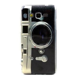 Gelový kryt na Samsung Grand Prime - retro foťák - 1