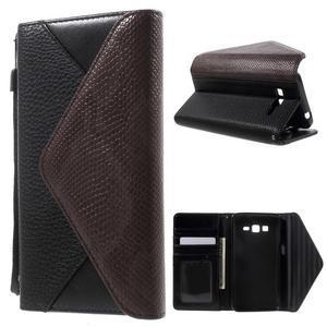 Writes elegantní pouzdro na Samsung Galaxy Grand Prime - černé - 1
