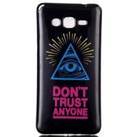 Jelly gelový obal na mobil Samsung Galaxy Grand Prime - oko - 1/3