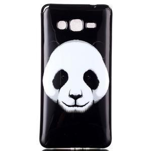 Jelly gelový obal na mobil Samsung Galaxy Grand Prime - panda - 1