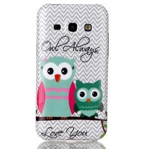 Gelový obal na mobil Samsung Galaxy J5 - dvě sovy - 1