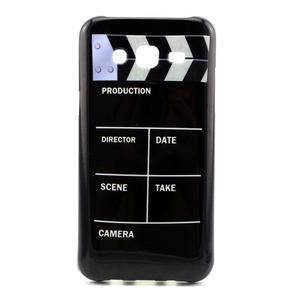 Stylový gelový kryt na Samsung Galaxy J5 - tv klapka - 1