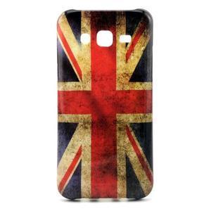 Stylový gelový kryt na Samsung Galaxy J5 - UK vlajka - 1