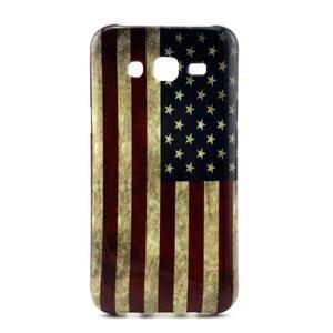 Stylový gelový kryt na Samsung Galaxy J5 - US vlajka - 1