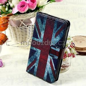 Stylové peněženkové pouzdro pro Samsung Galaxy Xcover 3 - UK vlajka - 1