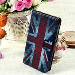 Stylové peněženkové pouzdro pro Samsung Galaxy Xcover 3 - UK vlajka - 1/7