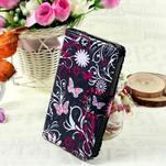 Stylové peněženkové pouzdro pro Samsung Galaxy Xcover 3 - motýlci - 1/7