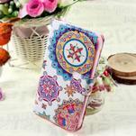 Stylové peněženkové pouzdro pro Samsung Galaxy Xcover 3 - mandala - 1/7
